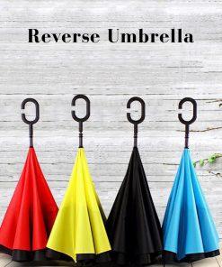 REVERSIBLE UMBRELLA/ REVERSE UMBRELLA/ INVERTED UMBRELLA/ UPSIDE-DOWN UMBRELLA