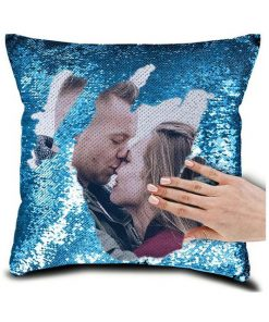 Personalized Magic Sequin Pillow Cover