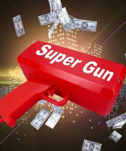 Make It Rain Money Gun Supreme Cash Cannon