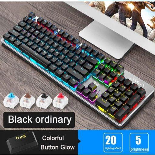 Phantom Steampunk Keyboard