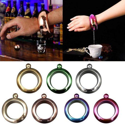 Fashion Flask Bracelet Stainless