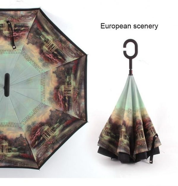 Upside Down Umbrella