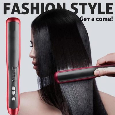 Hair Straightener Durable Electric Brush