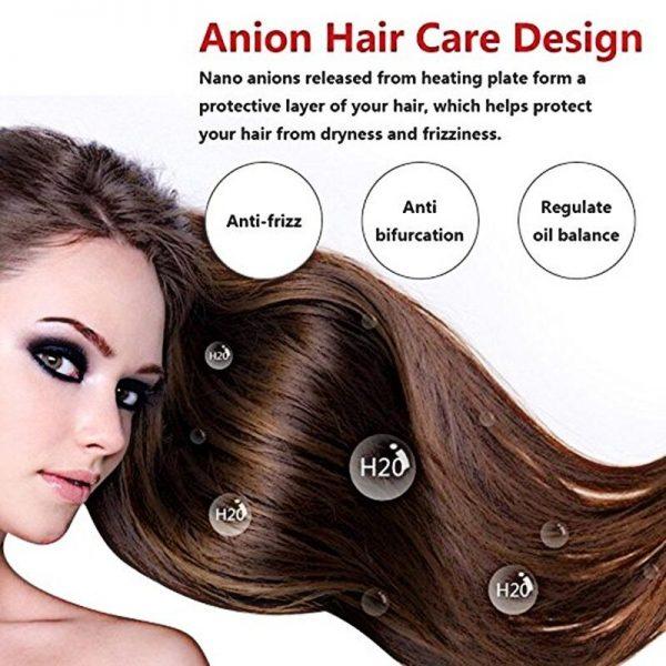 Hair Straightener Durable Electric Brush