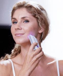 laser gentle glide hair removal kit