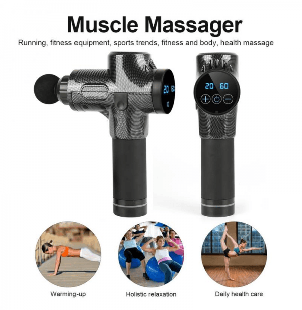 Electric Muscle Massage Gun Deep Tissue Massager Therapy
