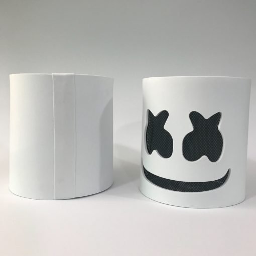 Led Light Marshmello Helmet Dj Mask Neon
