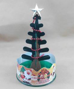 DIY Magical Crystal Growing Christmas Tree