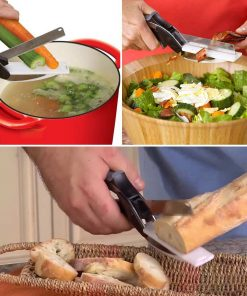 2 in 1 Kitchen Clever Quickly Cutter Food Chopper Smart Cutter