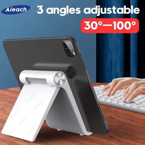 Adjustable Folding Bracket Tablet Stand For Mobile