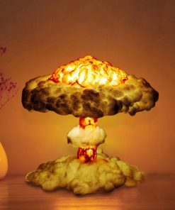 3D Night Light Nuclear Explosion Mushroom Cloud Lamp