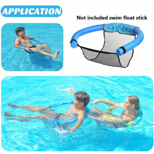 Floating Noodle Mesh Chair Swimming Pool