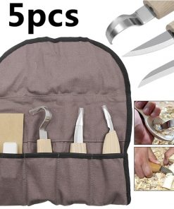 Spoon Wood Carving Knives Hook Tools Set