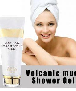 Deep Spa Whitening Volcanic Mud Bath Milk Cream