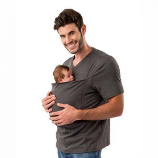 Skin To Skin Kangaroo T-Shirt For Mom / Dad