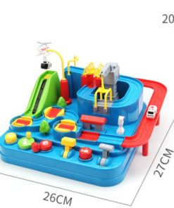 Racing Rail Car Educational Interactive Toy Children Track
