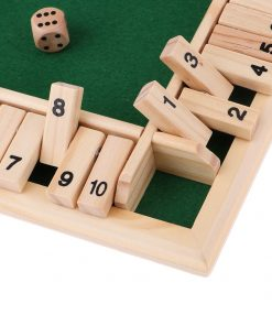 Deluxe Family Wooden Board Game Set