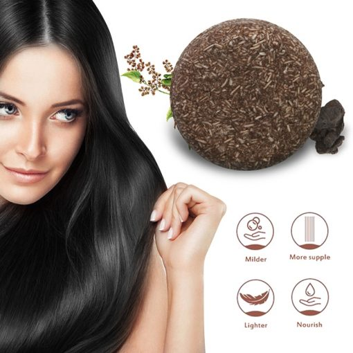 Organic Hair Darkening Shampoo Bar