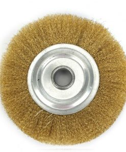 5 Inch 125mm Soft Brass Wire Copper Brush For Deburring