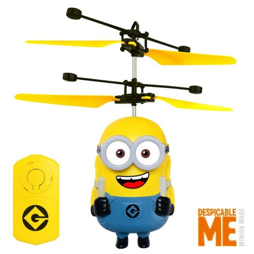 Flying Minion Toy Sensor Control With Colorful Light