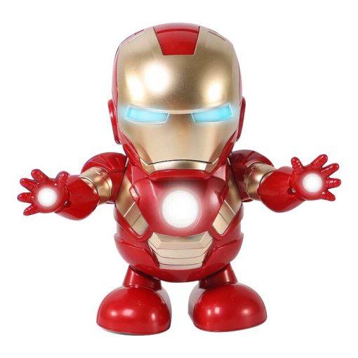 Marvel Iron Man Dancing Light Robot