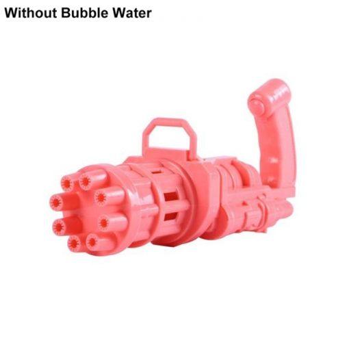 Automatic Gatling Bubble Gun Toys