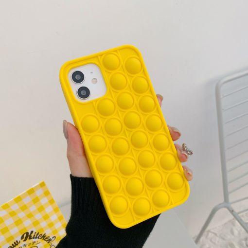 Pop Fidget Bubble Silicone Phone Case For iPhone