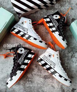 נעלי אול סטאר ALL STAR שחור לבן