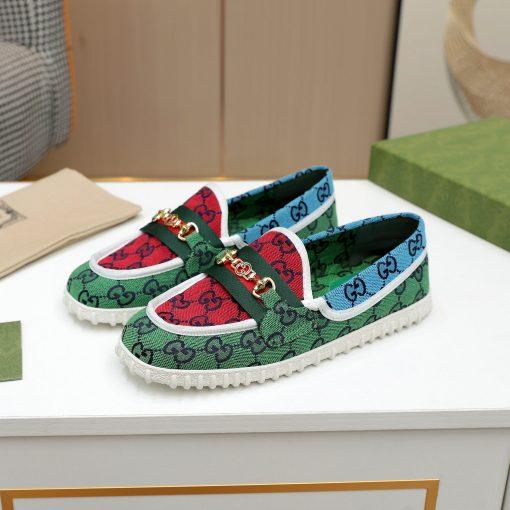 נעלי גוצ'י מבד
