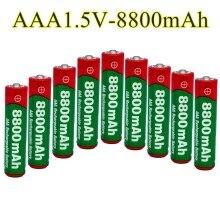 סוללת נטענת AAA 8800 mah Alcalinas drummey