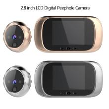 מצלמה אלקטרונית לדלת מסך צבעוני LCD 2.8 אינץ כולל פעמון