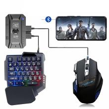 בקר משחקים ממיר כולל עכבר מקלדת עבור טלפון אנדרואיד IOS