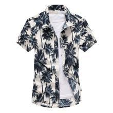חולצת הוואי פרחונית שרוול קצר