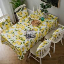 בד שולחן ורוד צהוב סגנון קוריאני
