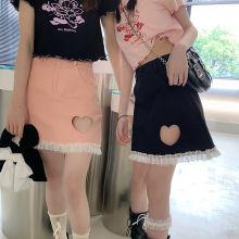 חצאית מיני בנות תחרה