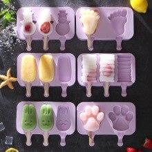 תבניות גלידה סיליקון לשימוש חוזר