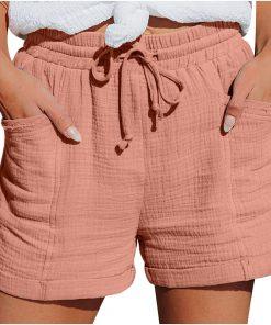 מכנסיים קצרים רחבות לנשים