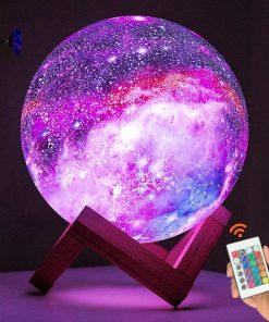 מנורת לילה גלקסיה במיוחד לילדים שלכם